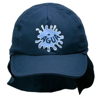 Imagem 1 do produto Boné c/ proteção em microfibra Marinho - Cara de Criança - CH1314 BONE MARINHO CH CHAPEU PRAIA POLIESTER-M
