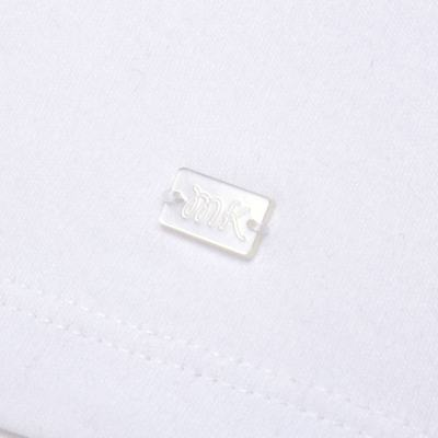 Imagem 3 do produto Macacão curto com golinha para bebe em algodão egípcio c/ jato de cerâmica e filtro solar fps 50 L'Hortensia - Mini & Kids - MCCG1746 MACACÃO M/C C/ GOLA SUEDINE HORTÊNCIAS-GG