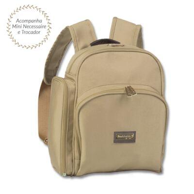 Imagem 1 do produto Mochila Marselhe Urban Caqui - Masterbag