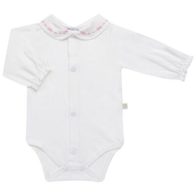 Imagem 6 do produto Jogo Maternidade para bebê: Body longo + Calça + Vestido + Manta em tricot Annie - Beth Bebê