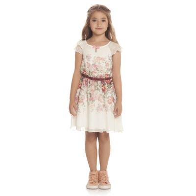 Imagem 2 do produto Vestido em chifon Camelli - Charpey - CY14746.138 VESTIDO OFF WHITE-2