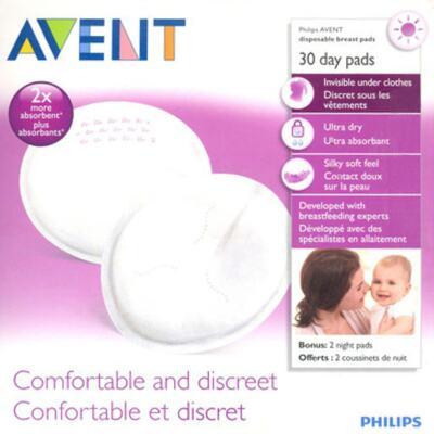 Imagem 3 do produto Absorventes Descartáveis para Seios Diurno (30 un) -  Philips Avent