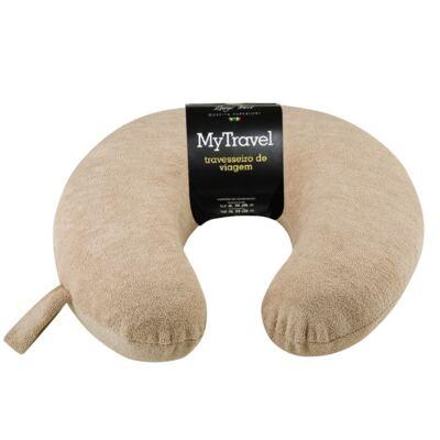 Imagem 1 do produto Travesseiro para Viagem My Travel  Café - Fibrasca