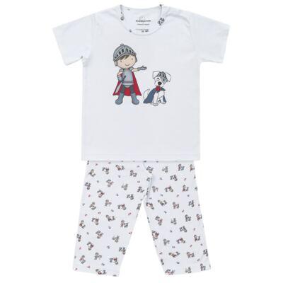 Imagem 1 do produto Pijama longo em suedine Chevalier - Dedeka - DDK16203 Pijama Suedine Longo Chevalier-2