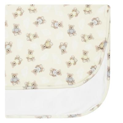 Imagem 1 do produto Manta para bebe em suedine Ursinhos - Petit