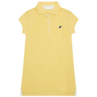 Imagem 1 do produto Vestido Polo em piquet Amarelo - Missfloor