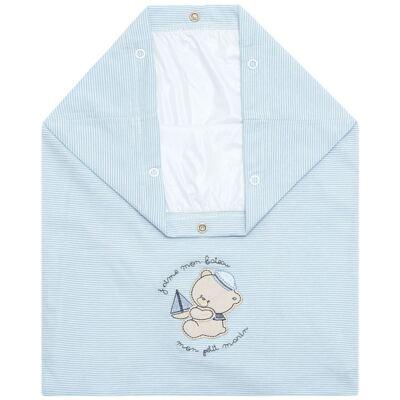 Imagem 1 do produto Saco para roupa suja em malha Blue Captain - Classic for Baby