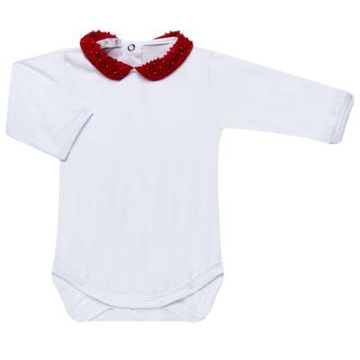 Imagem 4 do produto Saída Maternidade para bebe Amelie: Bolero + Body longo + Mijão + Manta - Roana