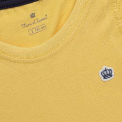 Imagem 2 do produto Regata em malha Amarela - Mini & Classic - 9501672 REGATA MALHA AMARELA-2