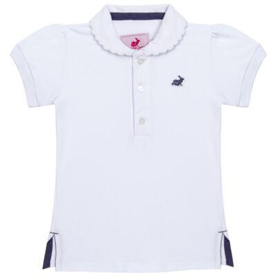 Imagem 1 do produto Polo em piquet Branca - Missfloor