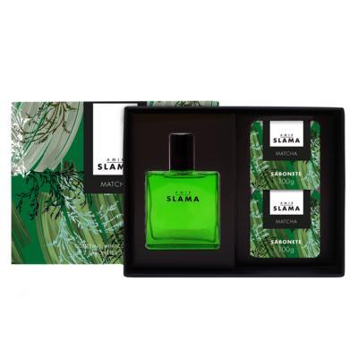Imagem 1 do produto Kit Duo Amir Matcha Granado - Colônia + 2 Sabonetes em Barra - Kit
