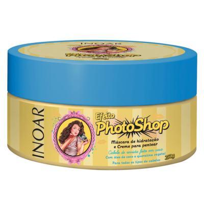 Imagem 1 do produto Inoar Efeito Photoshop Máscara de Hidratação - 250g