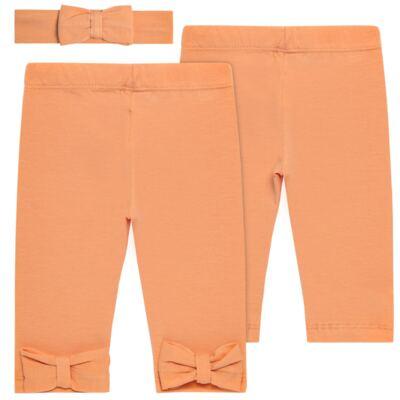 Imagem 1 do produto Legging com Faixa em spandex Tangerine - Mini & Kids - LLE1649 LEGGING C/ LAÇO E FAIXA EXPAND FLORAL 2-GG