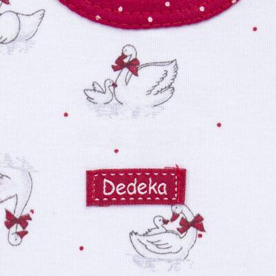 Imagem 3 do produto Kit Maternidade para bebe Noblesse: Body longo + Calça (mijão) + Naninha em suedine - Dedeka - DDK16062 Kit Body Longo com Calça e Naninha Noblesse-M