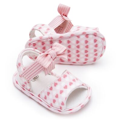 Imagem 2 do produto Sandália para bebe em algodão egípcio c/ jato de cerâmica e filtro solar fps 50 Maternité Love - Mini & Kids - 500.005.0751999 SANDÁLIA GORGURÃO 0 MK 15-16