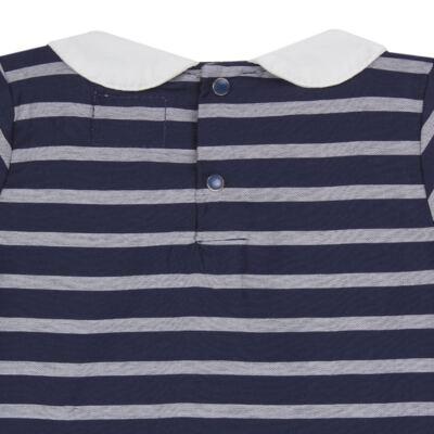 Imagem 3 do produto Vestido c/ golinha em tricoline College - Missfloor - 12CG0001.365 VESTIDO COM GOLA TRICOLINE MARINHO-3