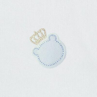 Imagem 2 do produto Cueiro para bebe em flanela Ursinho Azul bebê - Classic for Baby