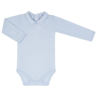 Imagem 2 do produto Jardineira com Body longo para bebe em viscomfort Chevalier - Petit - 16094167 JARDINEIRA BODY ML VISCOMF/SU URSO -M