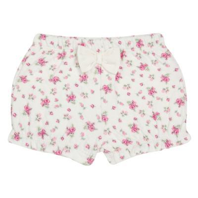 Imagem 4 do produto Body Polo com Shorts para bebe em suedine Florale - Grow Up - 04080008.0004 CONJUNTO FLOWERY CREME-P