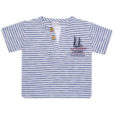 Imagem 2 do produto Camiseta com Shorts em malha Navigation Course  - Tilly Baby