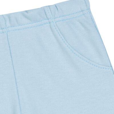 Imagem 3 do produto Pack 2 mijões para bebe em suedine Azul Matelassê - Grow Up - 09140052.0003 KIT CALÇAS BEAR FRIEND AZUL-RN