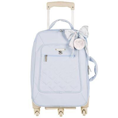 Imagem 2 do produto Mala maternidade com Rodízio + Bolsa Anne + Bolsa térmica organizadora + Mochila Soldadinho Azul - Masterbag