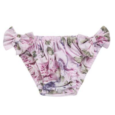 Imagem 2 do produto Conjunto de banho Floral: Biquini + Chapéu - Roana - BST00898046 BANHO DE SOL C/ TOP ROSA-G