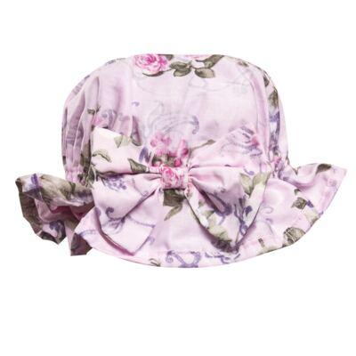 Imagem 4 do produto Conjunto de banho Floral: Biquini + Chapéu - Roana - BST00898046 BANHO DE SOL C/ TOP ROSA-G
