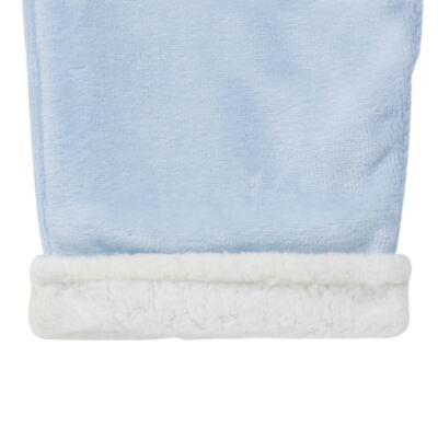 Imagem 2 do produto Calça para bebe em Plush & Pelúcia Azul - Petit