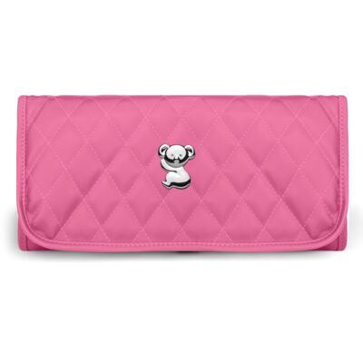 Imagem 6 do produto Kit Mala Maternidade para bebe + Bolsa Havana + Frasqueira Térmica Aruba + Kit Acessórios + Trocador Portátil Colors Pink - Classic for Baby Bags