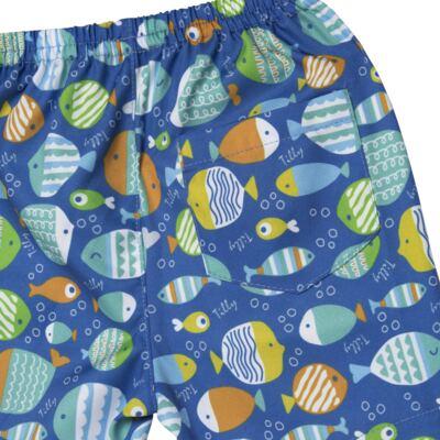 Imagem 5 do produto Regata c/ Bermuda em tactel Ocean - Tilly Baby - TB166308 CONJ MASC TACTEL OCEAN -1