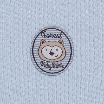 Imagem 5 do produto Pack Forest Bear: 02 regatas em suedine - Vicky Baby - 1041-4250 PACK 2 REGATA URSO FOREST -GG