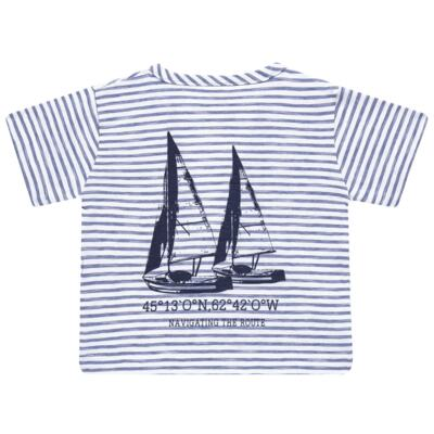 Imagem 4 do produto Camiseta com Shorts em malha Navigation Course  - Tilly Baby