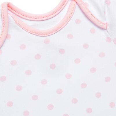 Imagem 3 do produto Conjunto Pagão Princess: Casaco + Body curto + Calça para bebe em algodão egípcio - Bibe - 39F18-G79 CONJ PAGAO POÁ-P