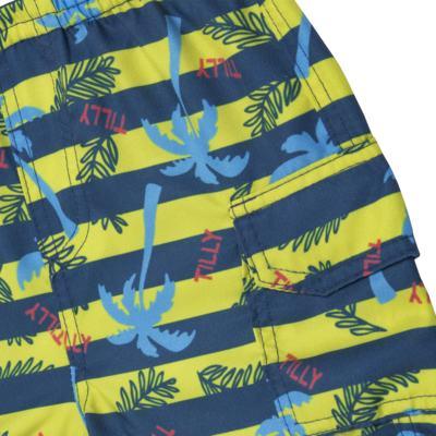 Imagem 5 do produto Camiseta c/ Bermuda em malha Maverick - Tilly Baby - TB166303 CONJ MASC TACTEL COQUEIROS-GG