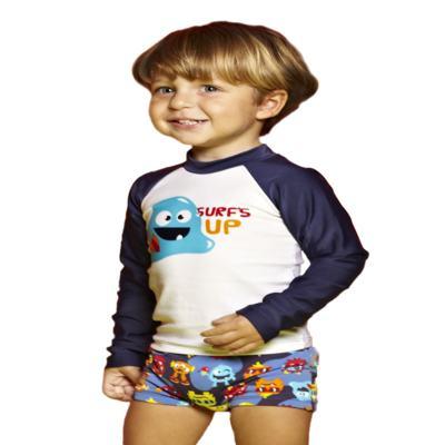 Imagem 2 do produto Camiseta para bebe em lycra Monstrinhos - Puket