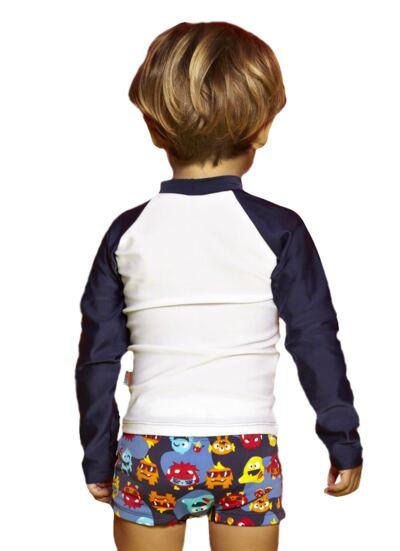 Imagem 3 do produto Camiseta para bebe em lycra Monstrinhos - Puket