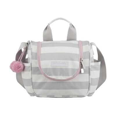 Imagem 4 do produto Bolsa para bebe 2 em 1 Julie + Frasqueira Térmica Emy Candy Colors Pink - Masterbag