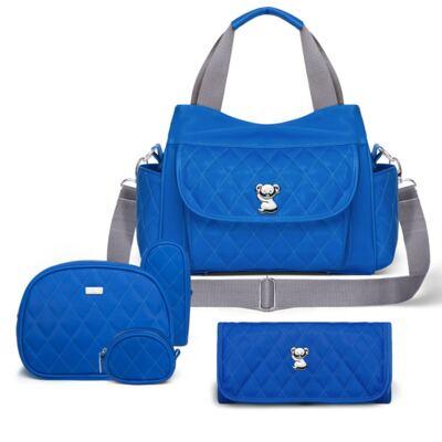 Imagem 1 do produto Kit Acessórios para bebe + Bolsa Viagem + Trocador Colors Klein - Classic for Baby Bags