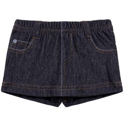 Imagem 1 do produto Shorts Saia para bebe em fleece Jeanswear - Bibe - 10P11-208 SH FEM LOEIL PEQ-G