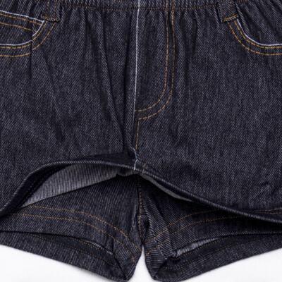 Imagem 3 do produto Shorts Saia para bebe em fleece Jeanswear - Bibe - 10P11-208 SH FEM LOEIL PEQ-G