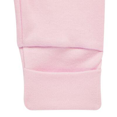 Imagem 5 do produto Pack 2 mijões com pé reversível para bebe em algodão egípcio c/ jato de cerâmica Princess Bear - Mini & Classic - 1025655 PACK 2 MIJOES SUEDINE URSA -RN