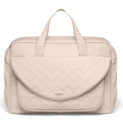 Imagem 2 do produto Mala Maternidade para bebe + Bolsa Turin + Frasqueira Térmica Trento Chevron Ágata - Classic for Baby Bags