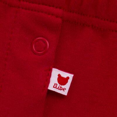 Imagem 4 do produto Regata com Cobre Fralda para bebe em algodão egípcio Ladybug - Bibe - 38G02-G45 CJ Curto Regata c/ Cobre Fralda Floral-GG