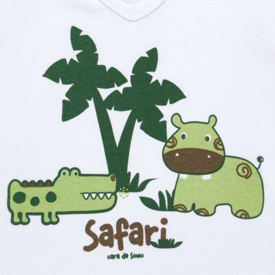 Imagem 3 do produto Pijama longo em malha Safari - Cara de Sono - L2456 SAFARI L PJ-LONGO M/MALHA-4