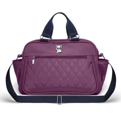Imagem 2 do produto Bolsa maternidade para bebe Martinica + Frasqueira Térmica Guadalupe Colors Grape - Classic for Baby Bags