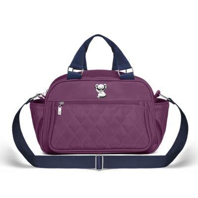 Imagem 3 do produto Bolsa maternidade para bebe Martinica + Frasqueira Térmica Guadalupe Colors Grape - Classic for Baby Bags