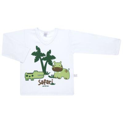 Imagem 2 do produto Pijama longo em malha Safari - Cara de Sono - L2456 SAFARI L PJ-LONGO M/MALHA-1