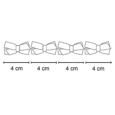 Imagem 2 do produto Kit: 4 Maxi Laços adesivos Coloridos - Roana - CTLE0028 Kit: 4 Laços adesivas Coloridas