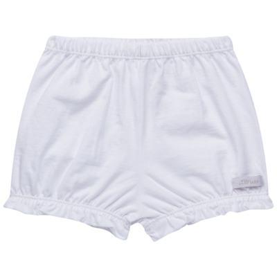 Imagem 1 do produto Shorts balonê para bebe em malha Branco - Tilly Babys - TB13105.01 SHORT BALONE MEIA MALHA BRANCO-G